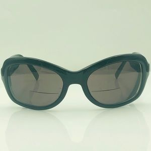 Anne Klein Vintage Black Sunglasses Frames